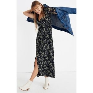 Madewell Tulip sleeve maxi dress in Antique Flora
